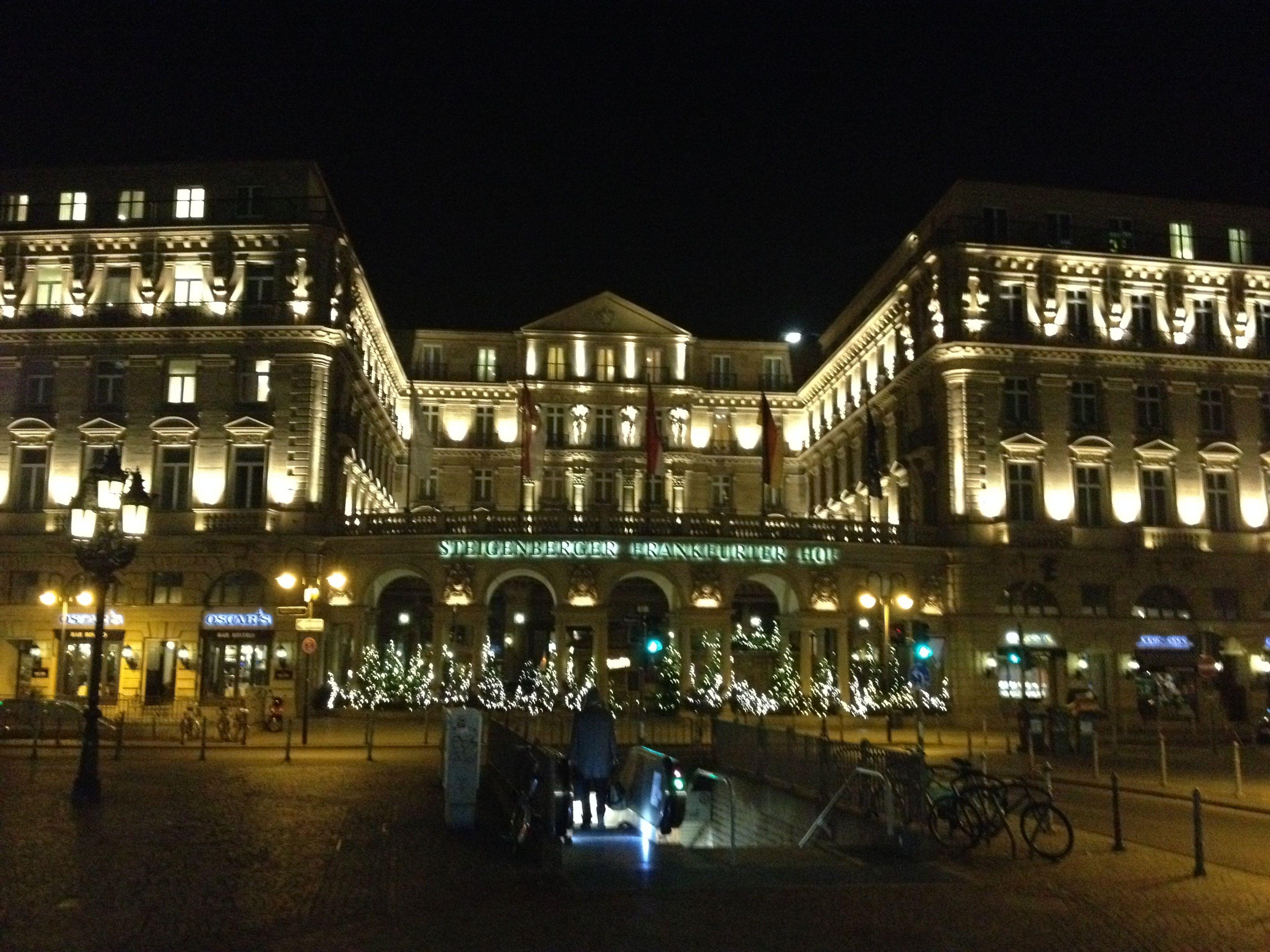 Steigenberger Frankfurter Hof Frankfurt The Grand Hotel Pinterest
