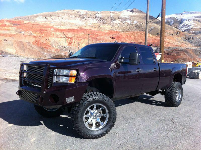 It S Purple Duramax Diesel Big Trucks Gmc
