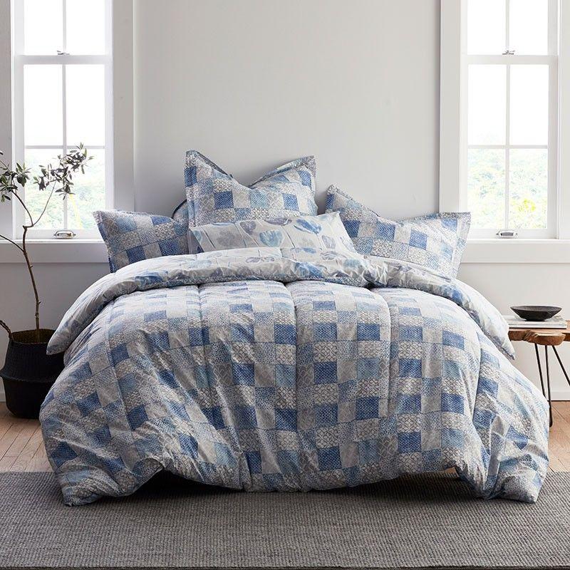 LoftHome® Reversible Tulip Geo Print Comforter The