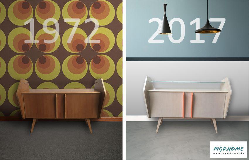 Möbel Moers sideboard shabby chic vintage retro möbel industrial kolonialstil
