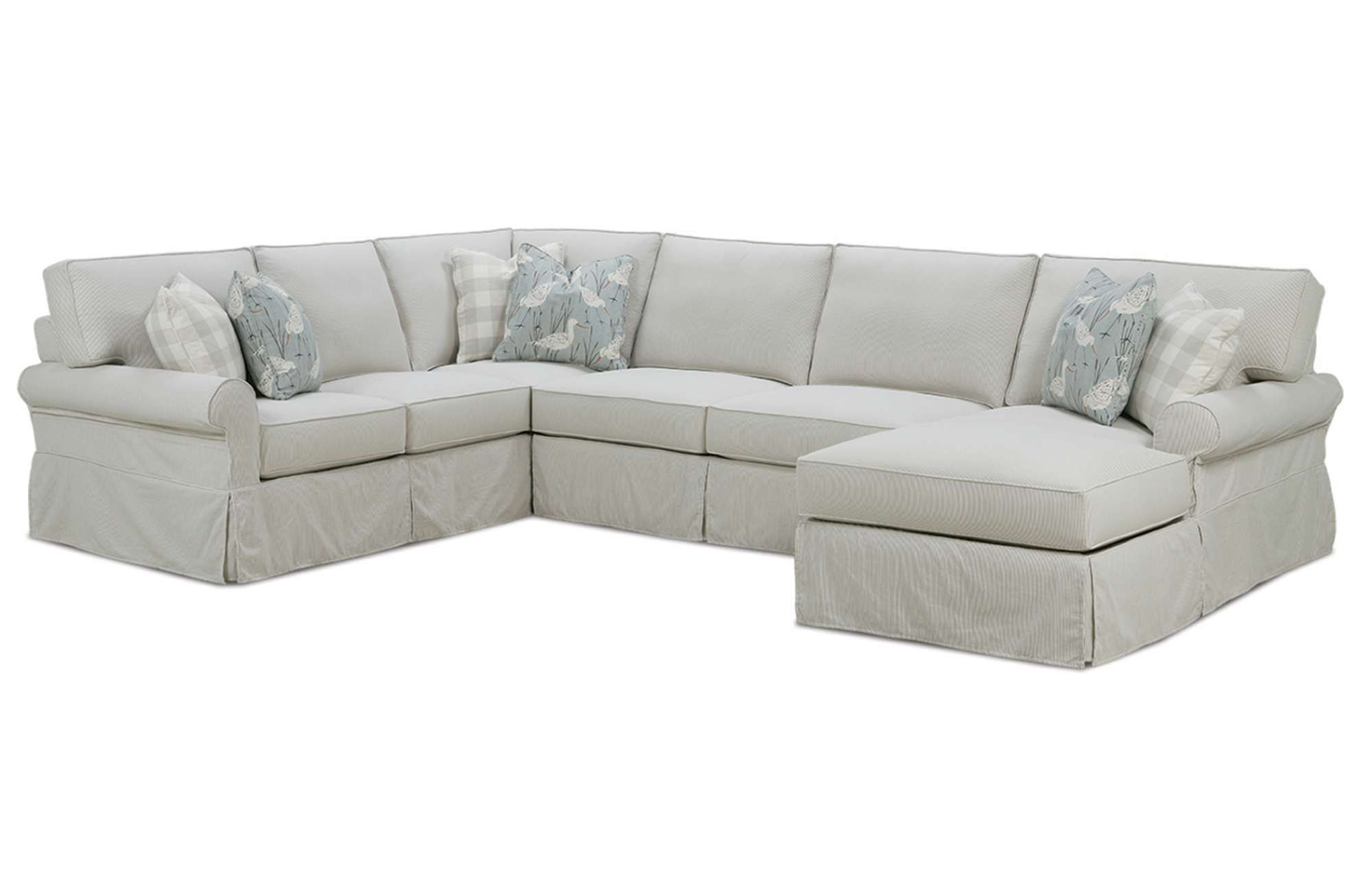 Rowe 7860 Addison Sectional available at Hickory Park Furniture