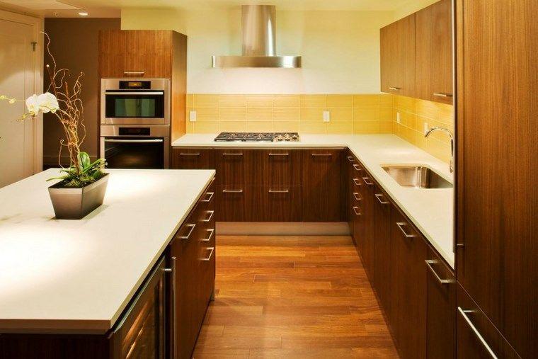 Forma cocinas: más de 50 diseños de cocinas en L - | Muebles de ...