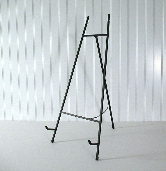 25 Quot Tall Table Easel Large Black Metal Tabletop Home Wedding Office Display Framed