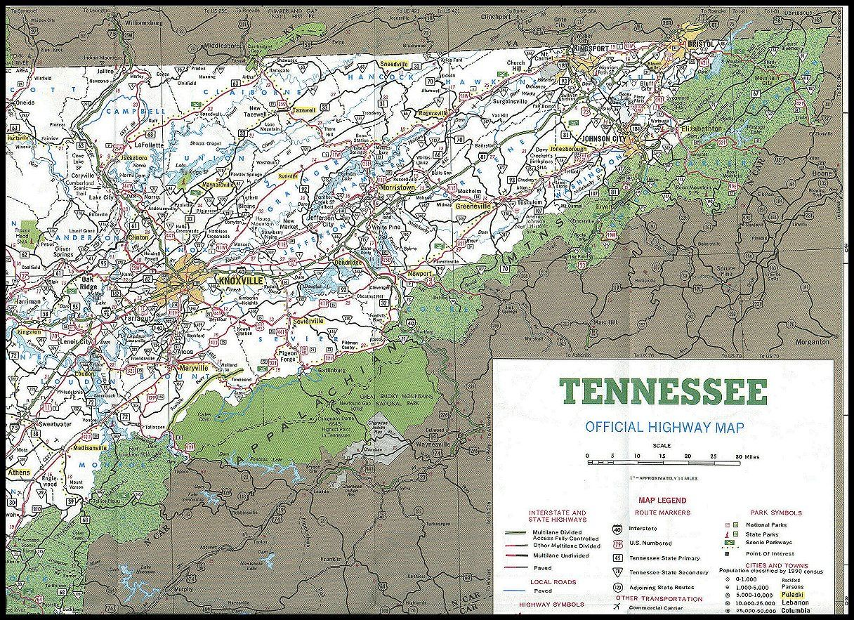 Image detail for East TN Area Map East Tennessee Pinterest