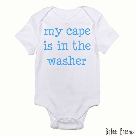 Im My Aunts Superhero Baby Bodysuit