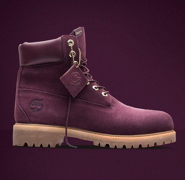 MAROON TIMBERLANDS | Boots, Timberland