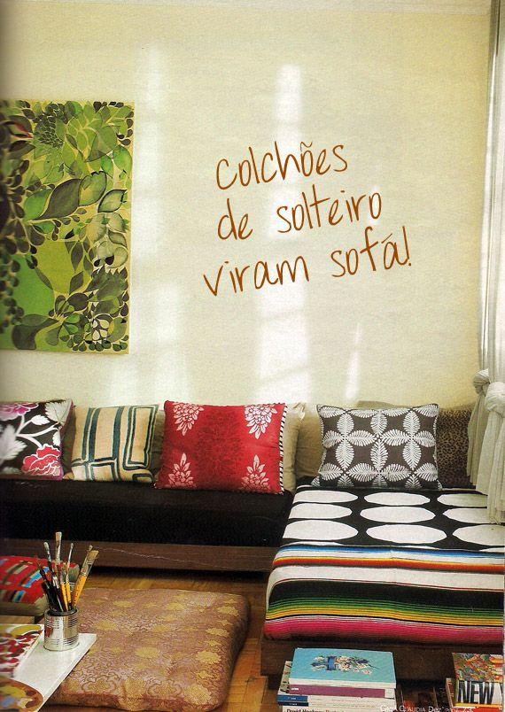 Camas ou sofás? A versatilidade de um bom colchão | CASA DE PRAIA ...