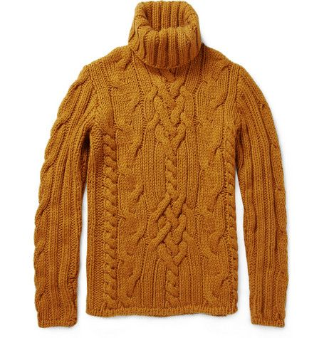 Cable knit turtle neck!