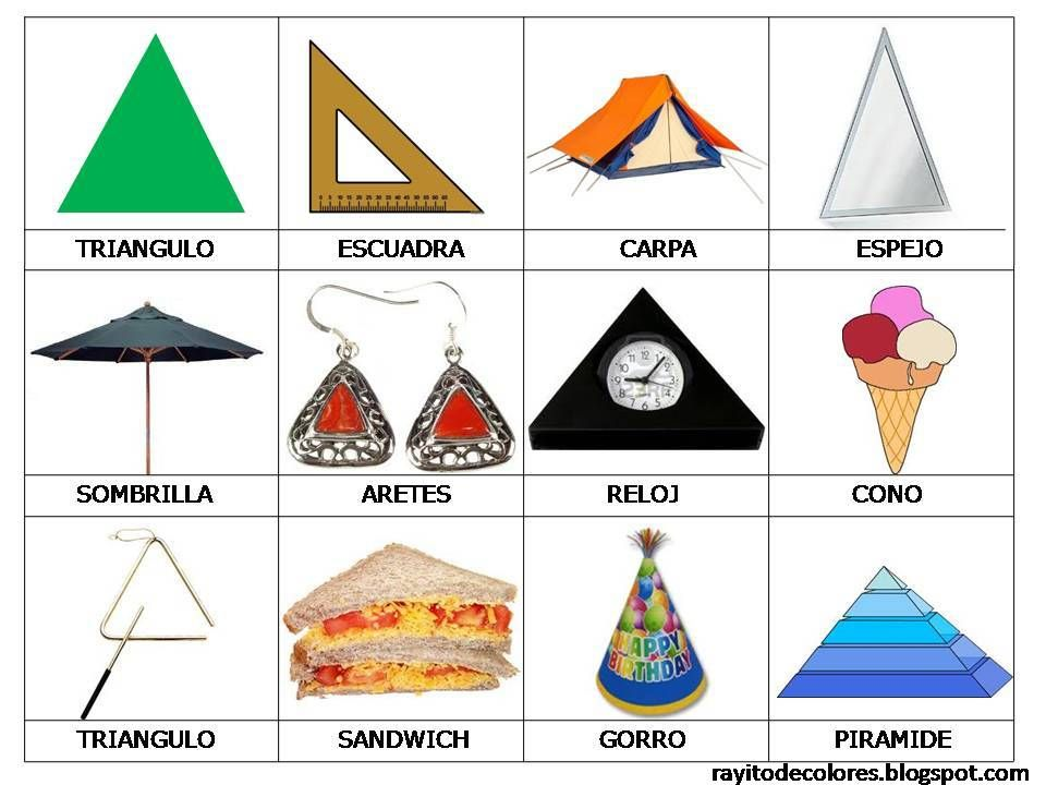 Muitas vezes Objetos de forma de triángulo | NATURE, CHILDERN AND PEOPLE  VV36
