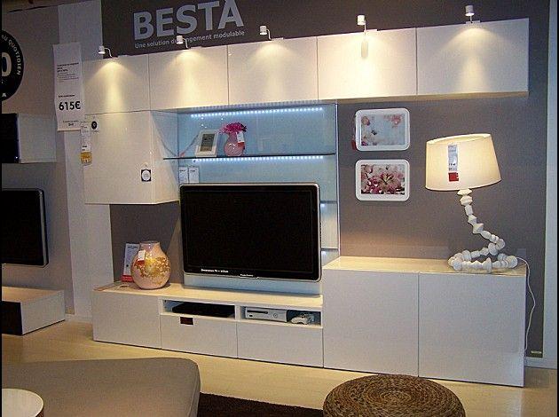 Changement De Decor Autour De La Tele Le Blog Generateur D Inspiration Meuble Salon Ikea Mobilier De Salon