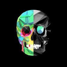3d Colorful Skull Artwork Wallpaper Fanartworks Com Hd Skull Wallpapers Skull Wallpaper Skull Pictures