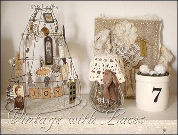 Vintage avec Lacets - Studio