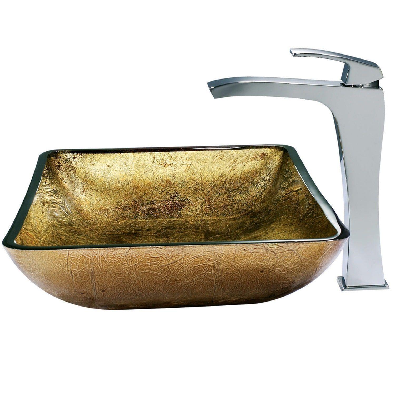 Vigo Vgt154 Textured Copper Vessel Sink