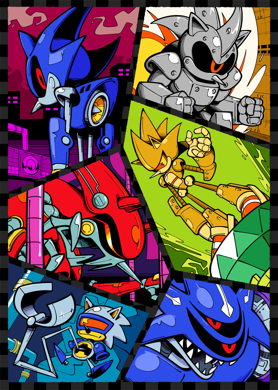 There's too many versions of Metal Sonic sonic