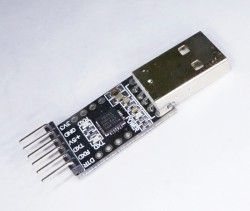 6-ти пиновый конвертер USB/UART CP2102 для тех кто не любит давить