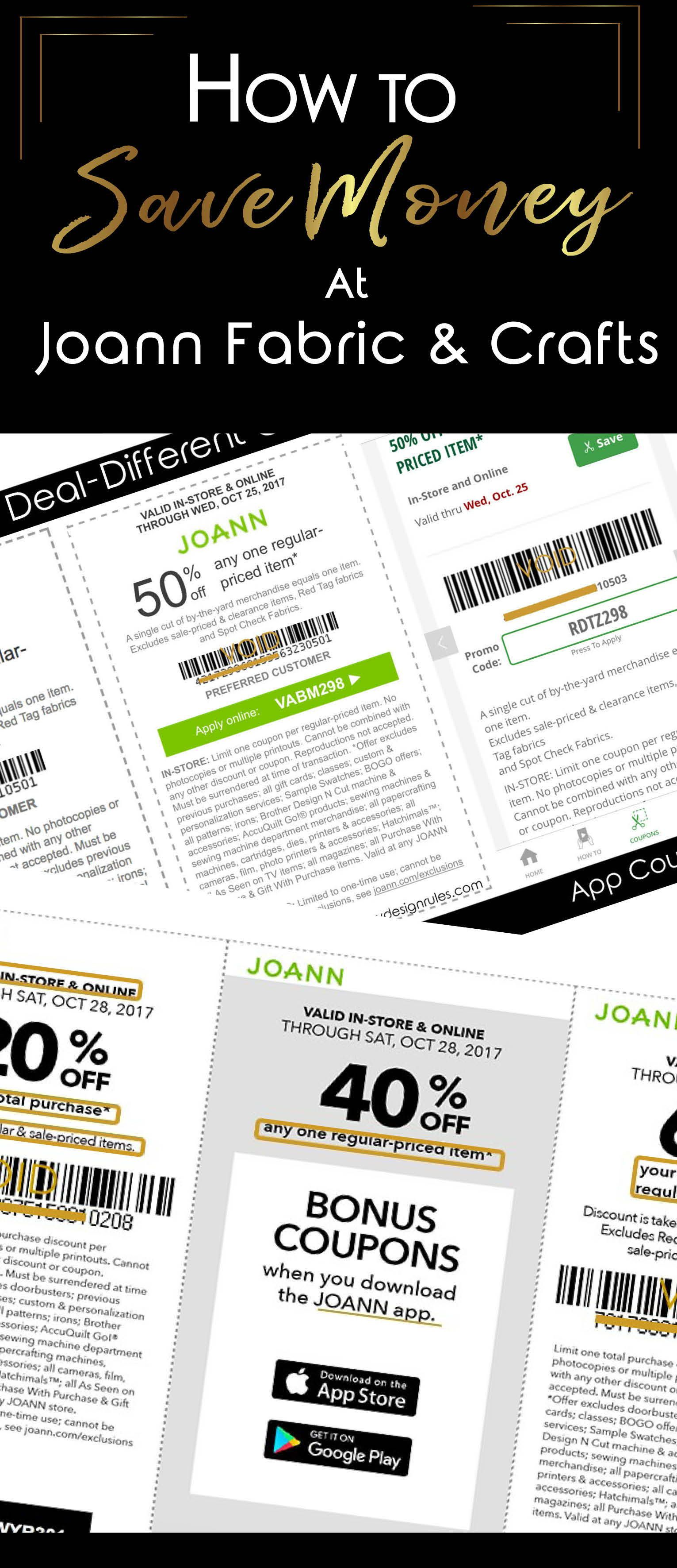 11++ Save on crafts coupon 2019 info