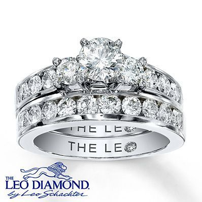 Charmant 10 Stunning Bridal Sets From Kay Jewelers | OneWed #LeoDiamond  #VisiblyBrighter