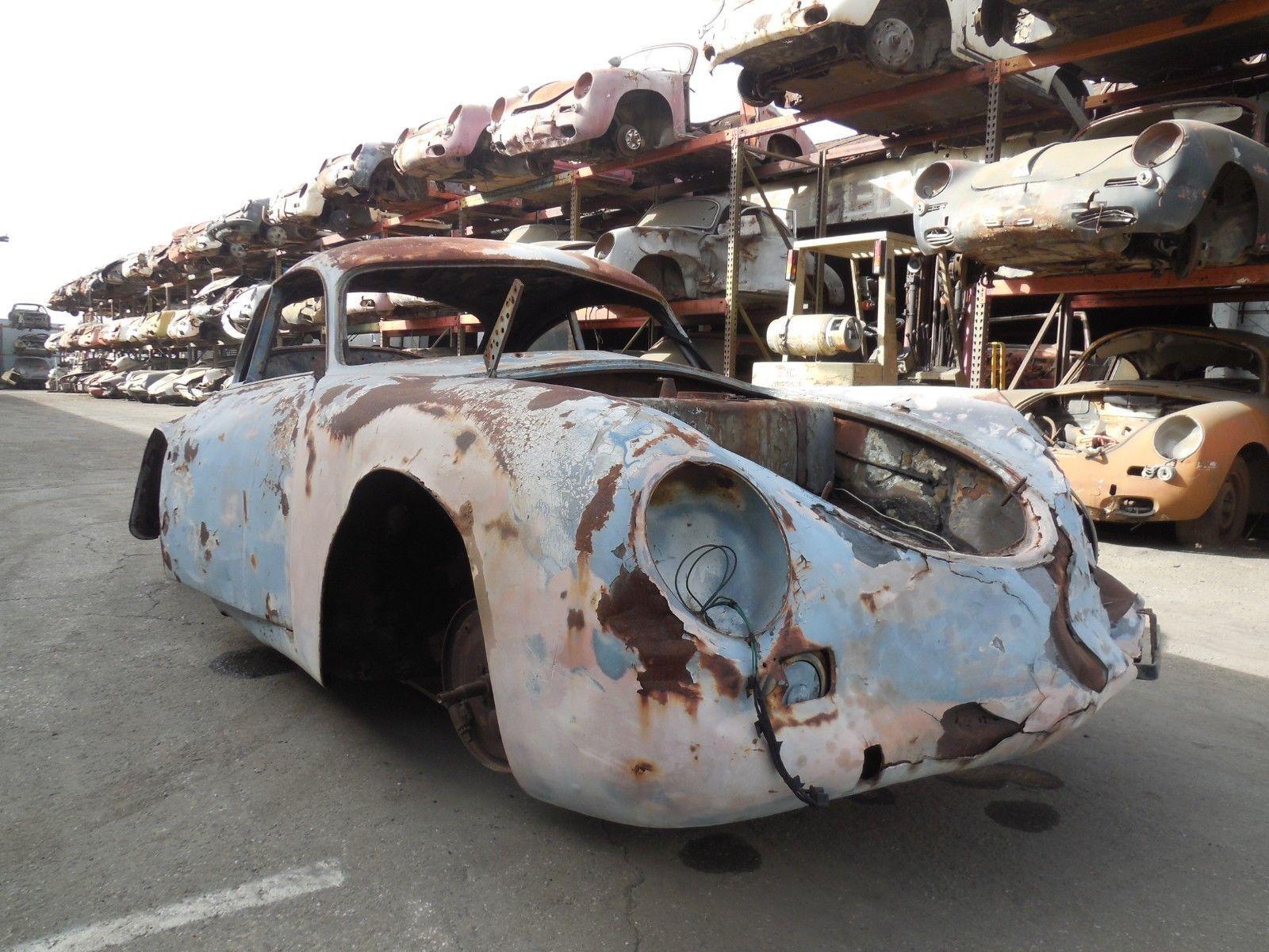 1955 Porsche 356 Coupe Pre A Project Car for Parts | Project cars ...