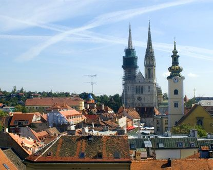 Zagreb Croatia Zagreb Is About 70 Miles Away From Kuterevo Zagreb Croatia Croatia Zagreb