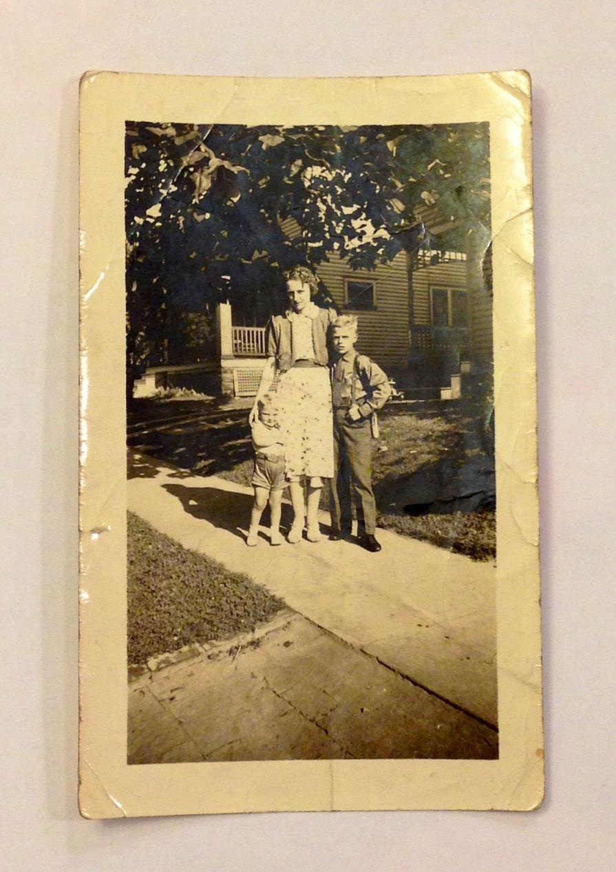 Photo from c. 1937 - Wayne Rambert, Martha Depenbrok-Rambert, Alfred Rambert (l. to r.)