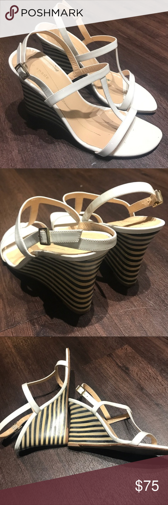 Kate Spade Wedges Kate Spade wedges in mint condition kate spade Shoes Wedges