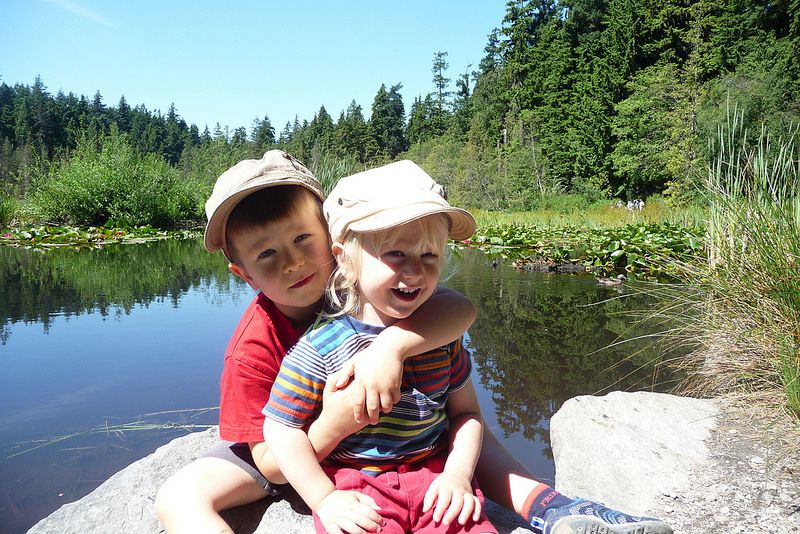 Boys at Beaver Lake | by Kirsten Chursinoff