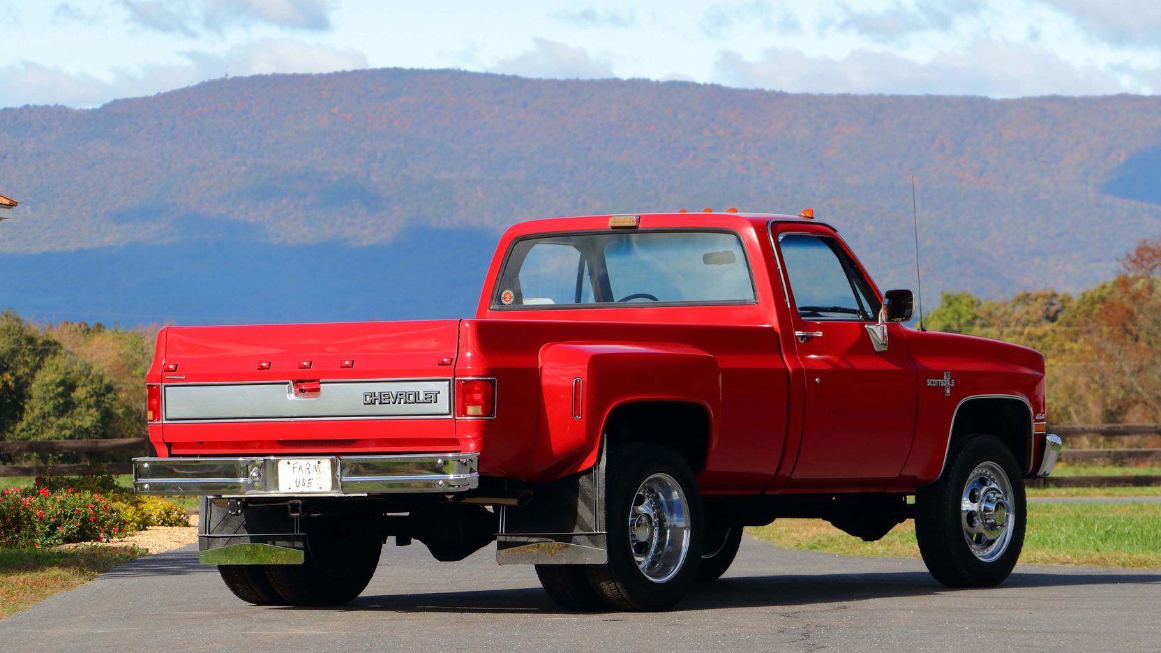 1988 chevrolet k30 dually pickup 454