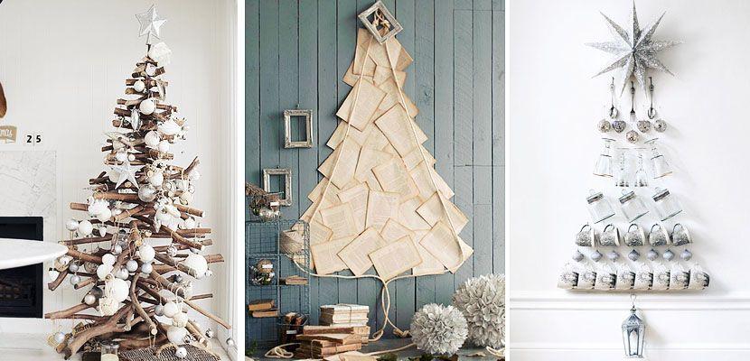 diy rboles de navidad originales httpwwwdecooracom - Arboles De Navidad Originales