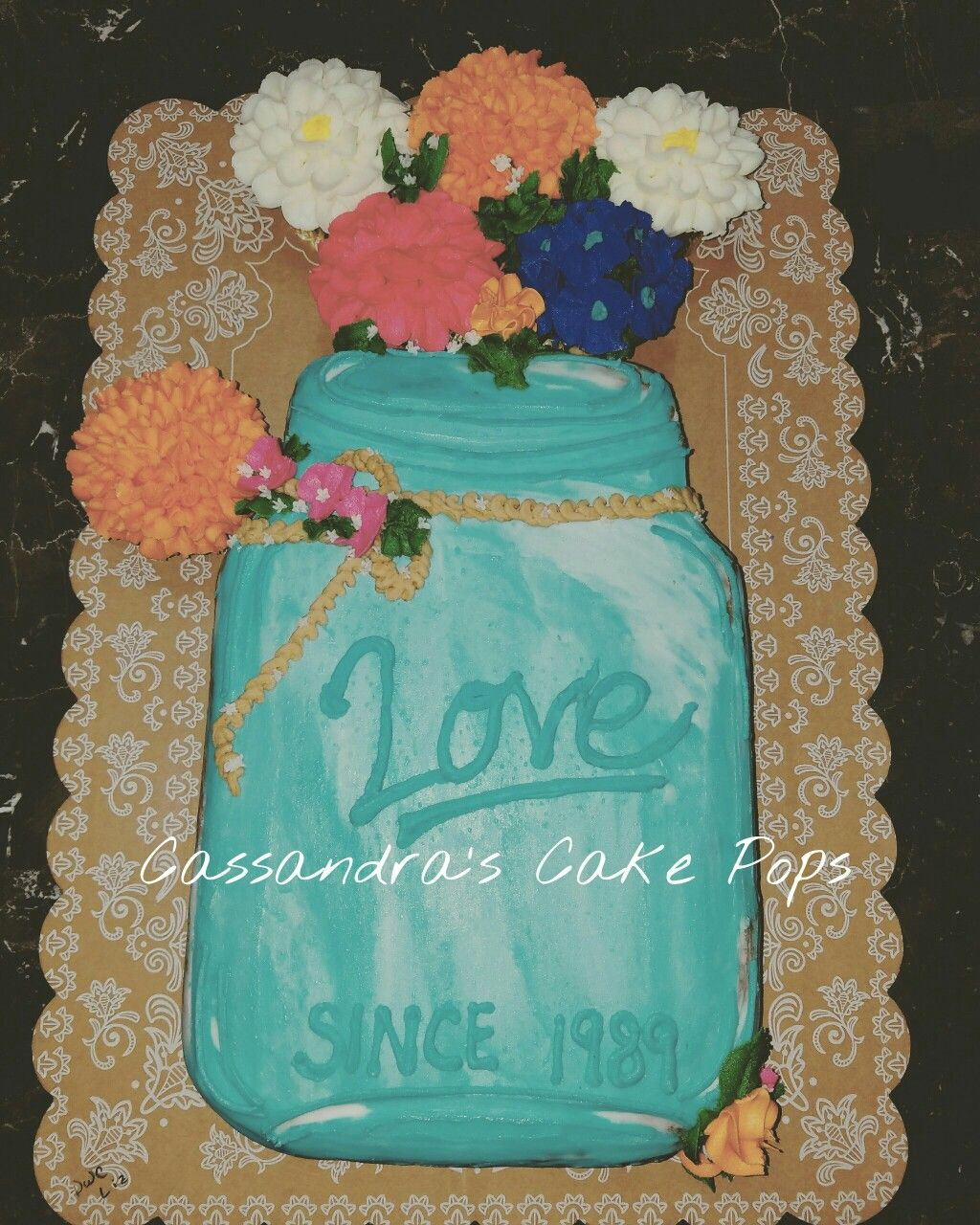 Country Themed Wedding Cake - CakeCentral.com