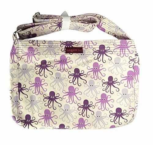 90df6ed5cb1e Bungalow 360 Large Messenger Bag (Octopus) #bungalow #360 #messenger ...