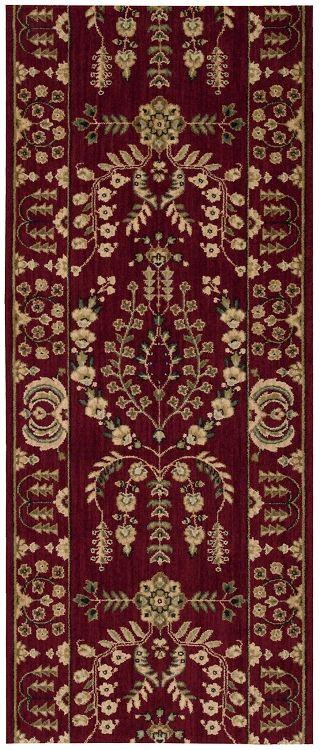 Best Nourison Grand Parterre Lilihan Sarouk Pt02 Burgundy 3 5 400 x 300