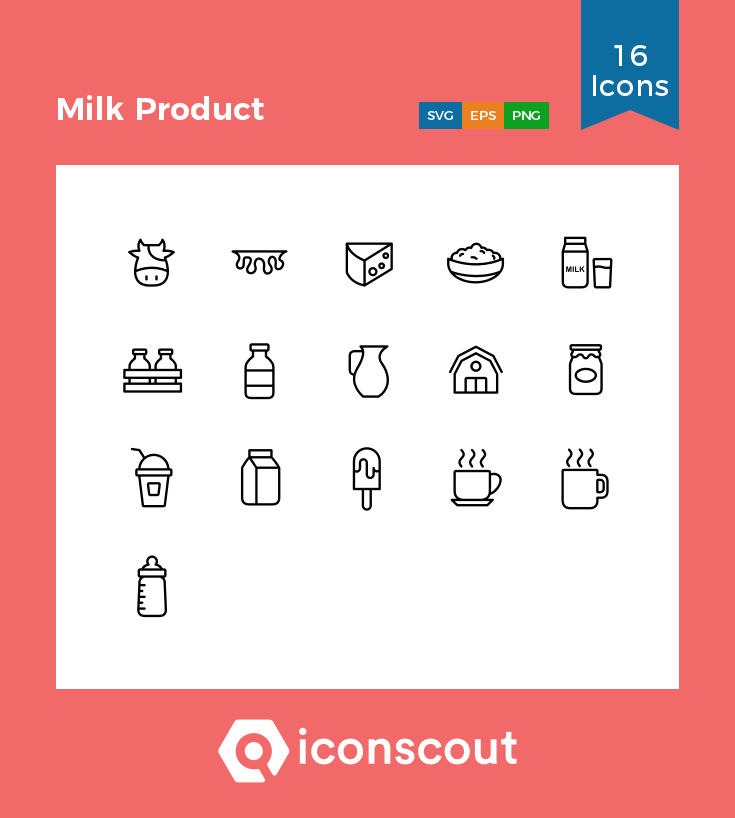 Download Milk Product Icon Pack Available In Svg Png Eps Ai Icon Fonts Icon Pack Icon Logo Restaurant