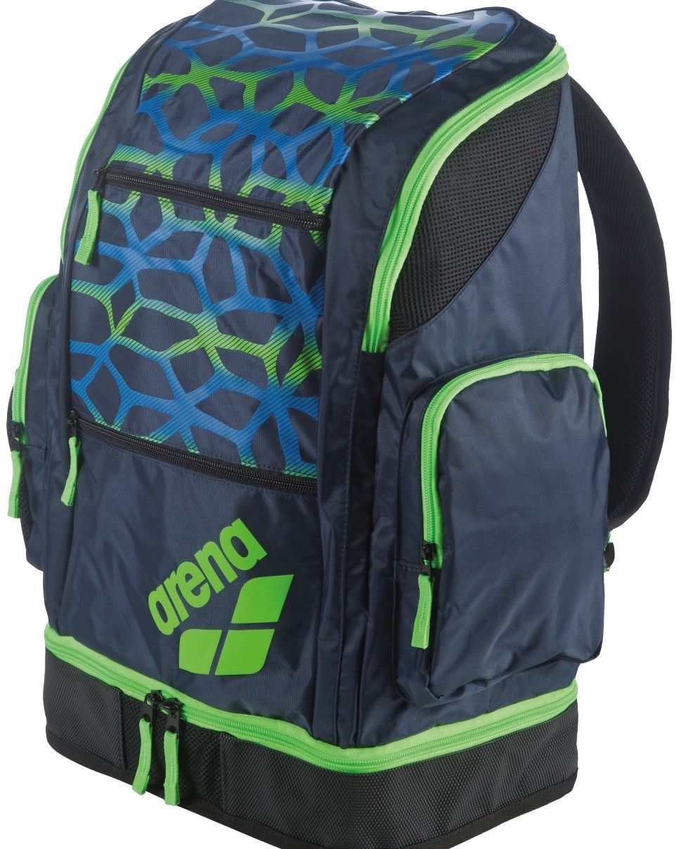 444d8a6a7ce Arena Spiky 2 Large Backpack Spider in Spider/Navy/Green | Bags ...