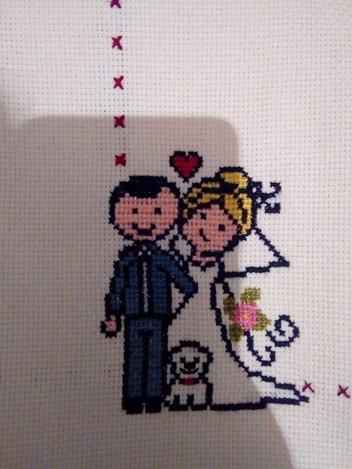Arte De Punto De Cruz Punto De Cruz Patrones Servilletas Punto De Cruz Libro Sensorial Cere Cross Stitch Tree Cross Stitching Wedding Cross Stitch Patterns