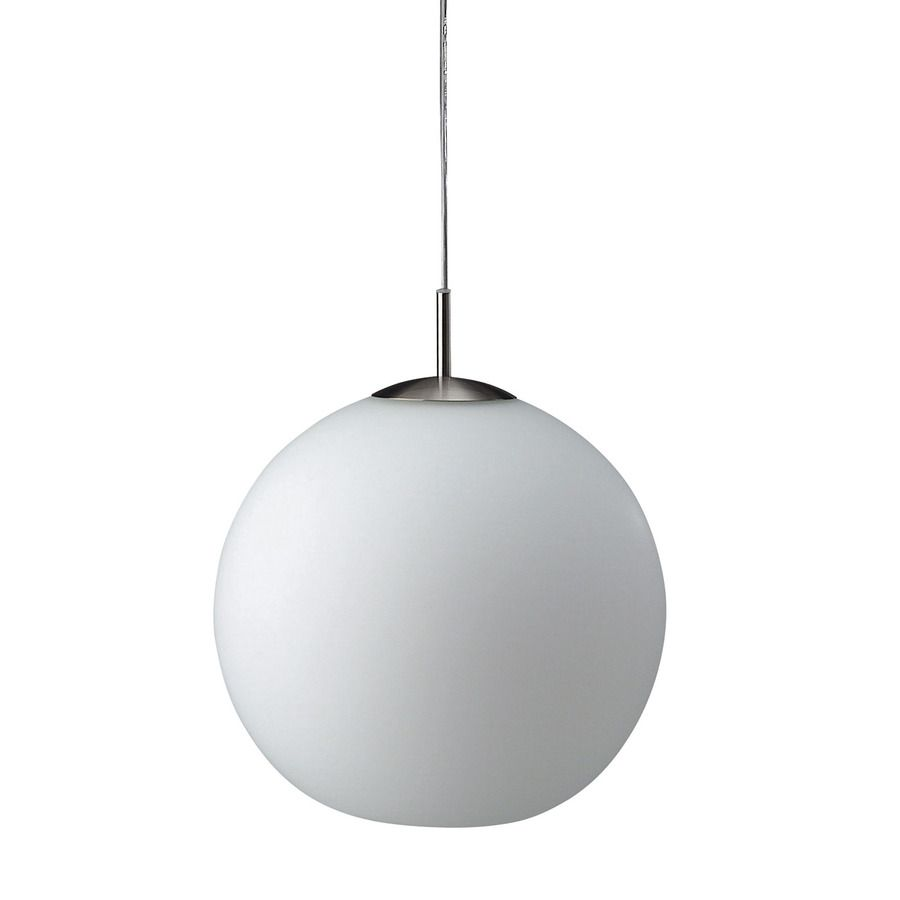 Philips Roomstylers 11 8 In Matte Chrome Globe Pendant Vintage