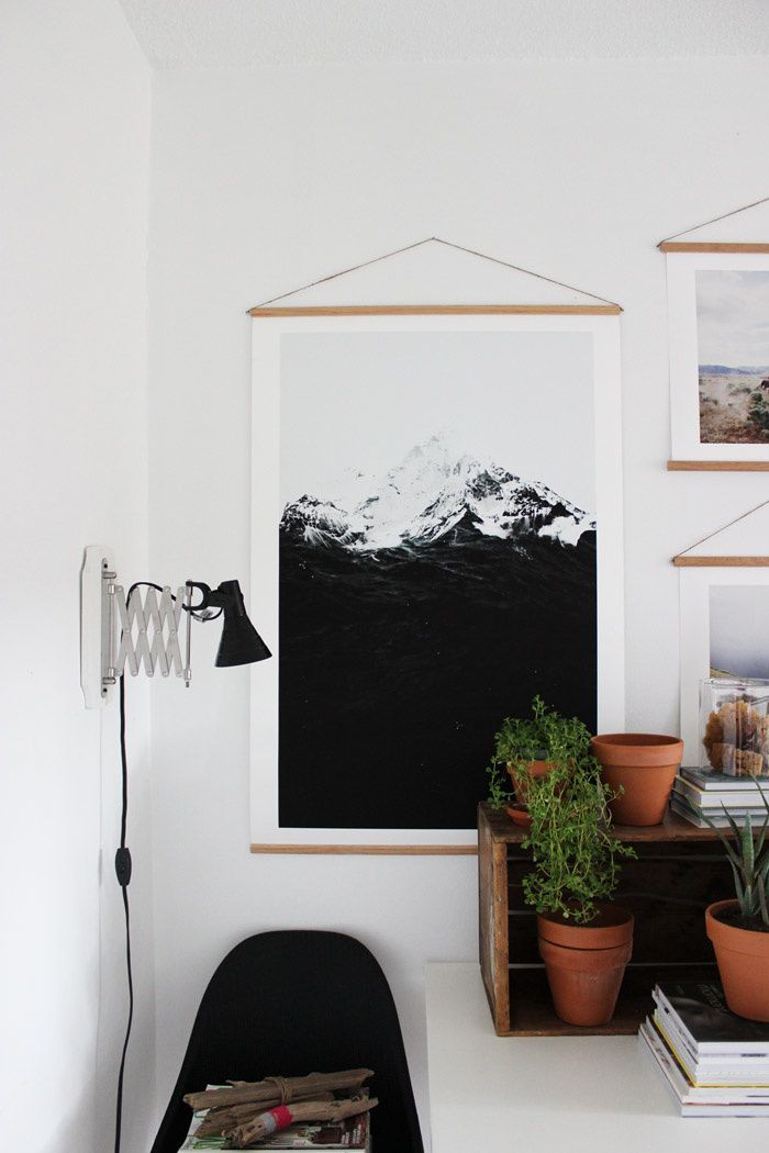 Easy DIY Dowel Rod Frames With Poppytalk … | (dwell) | Pinte…