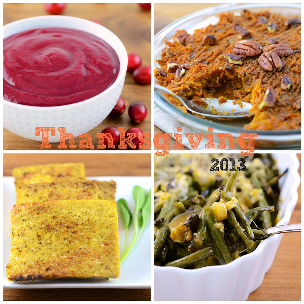 Vegetarian Thanksgiving Recipes A new one every day