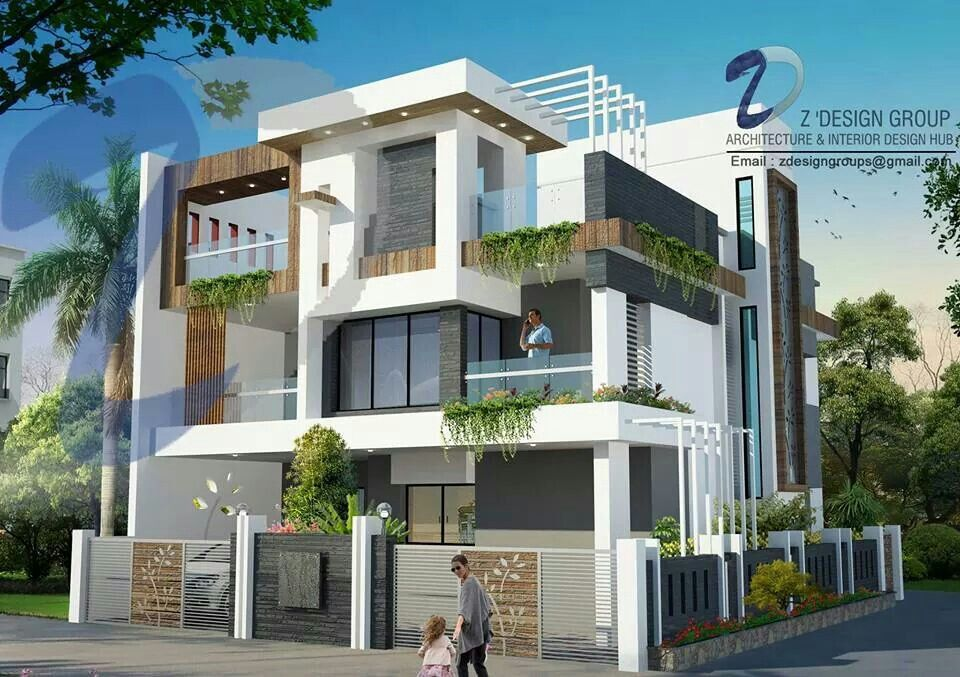 Modern architecture house design indian home kerala also pin by argha chattapadhyay on rh pinterest
