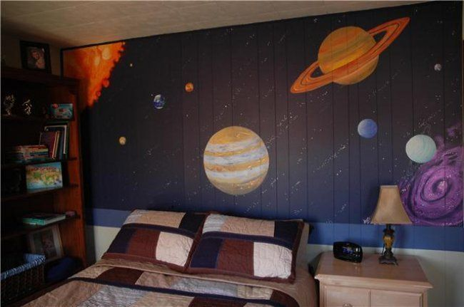 Solar System Bedroom : ... main/realistic-solar-system-boys-bedroom-mural-45042.jpeg  Pinterest