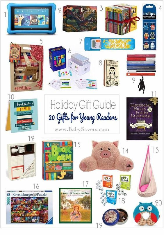 20 Gifts For Young Readers