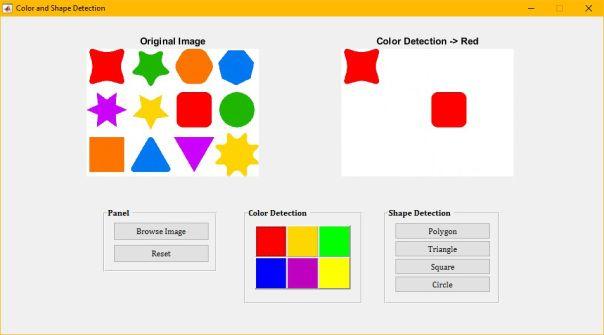 Pengolahan Citra Digital Untuk Mendeteksi Warna Dan Bentuk Obyek Warna Aplikasi Objek