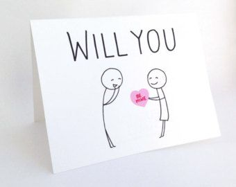 will you hug me funny valentine card for her quirky love card for fiance humorous valentines day witty anniversary card for him - Valentines Day Cards For Her