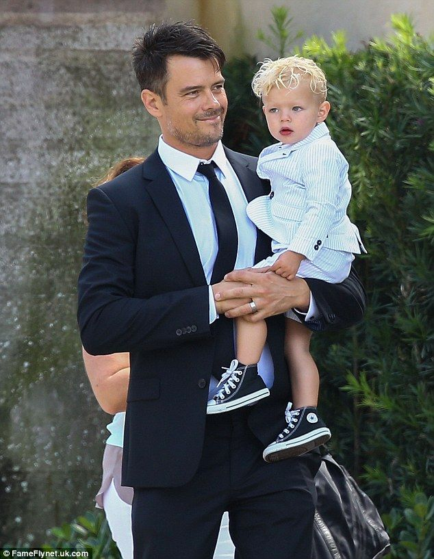 Family Husband Josh Duhamel And Son Axl Were Her Plus One A