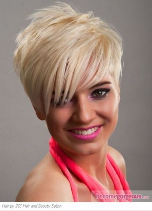 Short Funky Hairstyles Delectable Short Choppy Funky Haircuts 20152016  Hair  Pinterest  Funky