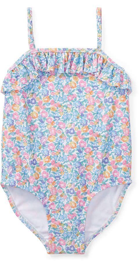 1e0c3873c2912 Ralph Lauren Floral-Print One-Piece Swimsuit, Size 9-24 Months ...