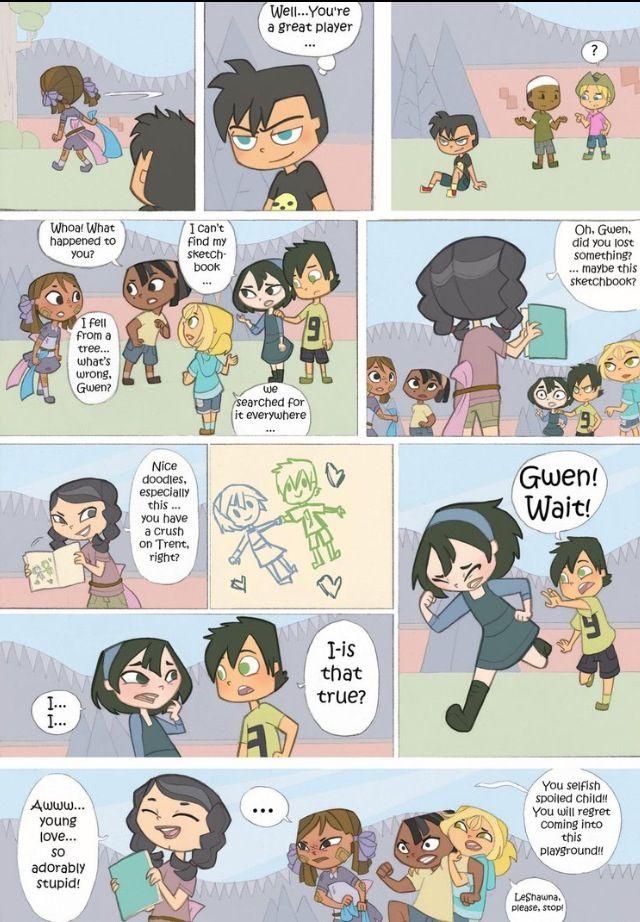 Page 10 Total Drama Island Cartoon Crossovers Short Comics Drama Series