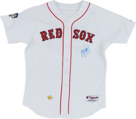 Curt Schilling Signed Boston Red Sox Jersey  5bf95327e