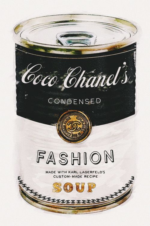 Fashion Soup By Oliver Gal Coco Chanel Fashion Black