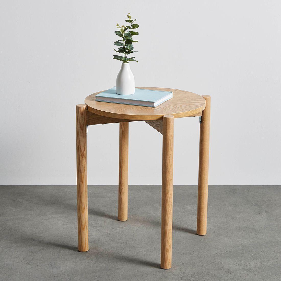 Maki Side Table Target Australia Round Wood Side Table Side Table Black Side Table [ 1100 x 1100 Pixel ]