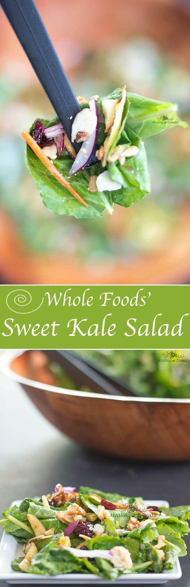 Sweet Kale Salad (Whole Foods' Copy Cat) Recipe Sweet